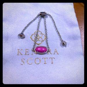 Kendra Scott Custom Elaina Bracelet in Dilver